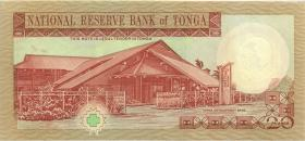 Tonga P.35b 20 Pa´anga o.J. (1)