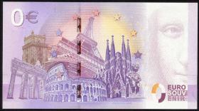 0 Euro Souvenir Schein Trier Karl-Marx Jahr 1818-2018 (1)