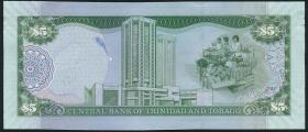 Trinidad & Tobago P.neu 5 Dollars 2006 (2014) (1)