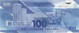 Trinidad & Tobago P.neu 100 Dollars 2019 Polymer(1)