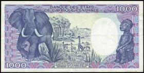Tschad / Chad P.10 1000 Francs 1985 (3+)