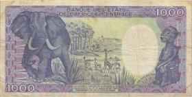 Tschad / Chad P.10Aa 1000 Francs 1985 (4)