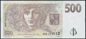 Tschechien / Czech Republic P.14 500 Kronen 1995 (2)