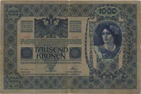 Tschechoslowakei / Czechoslovakia P.05 1000 Kronen 1919 (4)