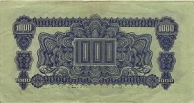 Tschechoslowakei / Czechoslovakia P.50s 1000 Kronen 1944 Specimen (3))