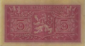 Tschechoslowakei / Czechoslovakia P.68a 5 Kronen 1949 (3)