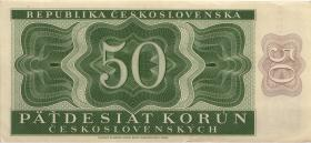 Tschechoslowakei / Czechoslovakia P.71b 50 Kronen 1950 (2)