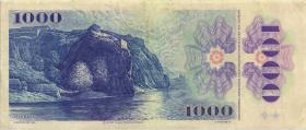 Tschechoslowakei / Czechoslovakia P.98 1000 Kronen 1985 (3)