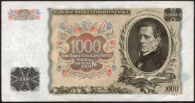 Tschechoslowakei / Czechoslovakia P.26a 1000 Kronen 1934 Specimen (2)