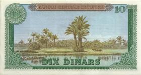 Tunesien / Tunisia P.65 10 Dinars 1969 (2)