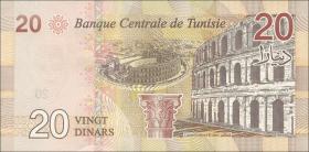 Tunesien / Tunisia P.neu 20 Dinars 2017 (1)