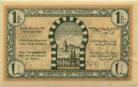 Tunesien / Tunisia P.55 1 Franc 1943 (1/1-)