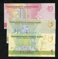 Turkmenistan 1 - 10 Manat 2020 (1) Gedenkbanknoten