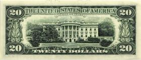 USA / United States P.483 20 Dollars 1988 A (1)