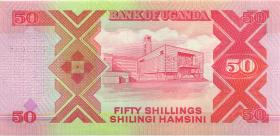 Uganda P.30c 50 Shillings 1998 (1)