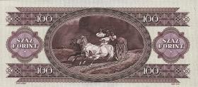 Ungarn / Hungary P.174a 100 Forint 1992 (1)