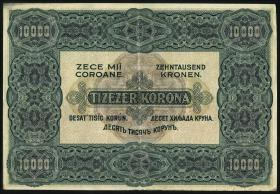 Ungarn / Hungary P.068 10000 Kronen 1920 (3)
