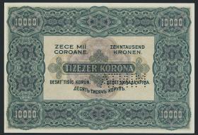 Ungarn / Hungary P.068S 10000 Kronen 1920 Specimen (1)