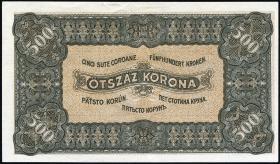 Ungarn / Hungary P.074 500 Kronen 1923 (1-)