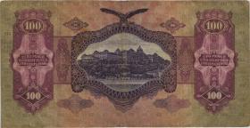 Ungarn / Hungary P.098 100 Pengö 1930 (3)