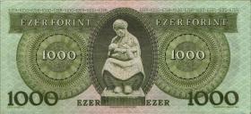 Ungarn / Hungary P.176b 1000 Forint 1993 (3+)