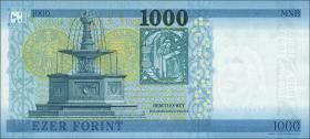 Ungarn / Hungary P.203a 1000 Forint 2017 (1)