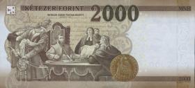 Ungarn / Hungary P.neu 2000 Forint 2016 (1)