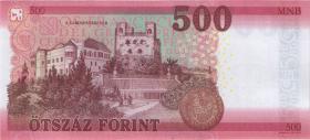 Ungarn / Hungary P.neu 500 Forint 2018 (1)