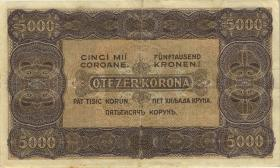 Ungarn / Hungary P.076 5.000 Kronen 1923 (3+)