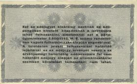 Ungarn / Hungary P.139b 500.000 Adopengö 1946 (1-)