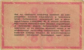 Ungarn / Hungary P.140a 1.000.000 Adopengö 1946 (3)