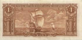 Uruguay P.35 1 Peso 1939 (3+)