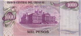 Uruguay P.52 1000 Pesos (1974) (2)