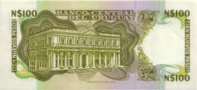 Uruguay P.62c 100 Nuevos Pesos o.D. (1)