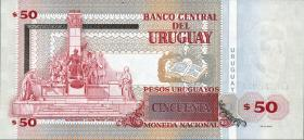 Uruguay P.87b 50 Pesos 2011 (1)