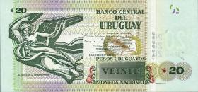 Uruguay P.93 20 Pesos Uruguayos 2015 (1)