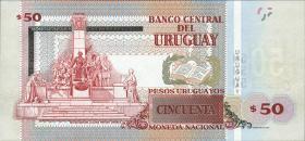 Uruguay P.94 50 Pesos Uruguayos 2015 (1)