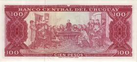 Uruguay P.47 100 Pesos (1967) (1)