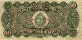Uruguay P.20 50 Centesimos 1934 (3+)