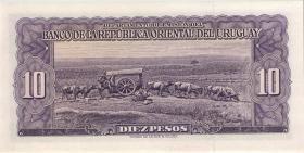 Uruguay P.42a 10 Pesos L. 1939 (1967) (1)
