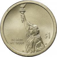 USA 1 Dollar 2018 Erstes Patent der USA