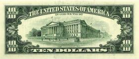 USA / United States P.499 10 Dollars 1995 J (1)