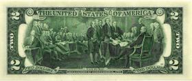 USA / United States P.516a 2 Dollars 2003 B (1)