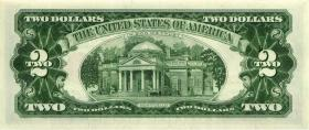 USA / United States P.382a 2 Dollars 1963 (1)