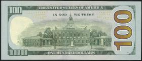 USA / United States 100 Dollars 2009 (1)
