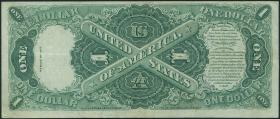 USA / United States P.187 1 Dollar 1917 United States Note (3)