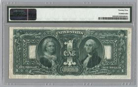 USA / United States P.335 1 Dollar 1896 (3) Educational Note
