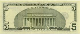 USA / United States P.517a 5 Dollars 2003 (1)