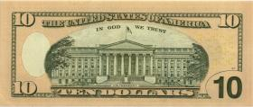USA / United States P.520 10 Dollars 2004 A (1) low number