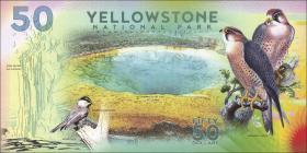 USA / United States 50 Dollars Yellowstone Nationalpark (1)